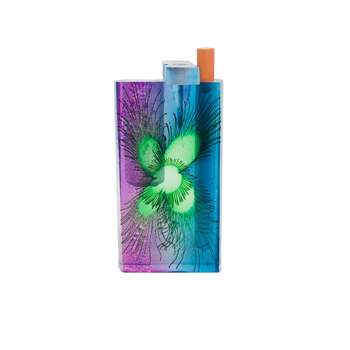 Large Flower Art Acrylic Dugout