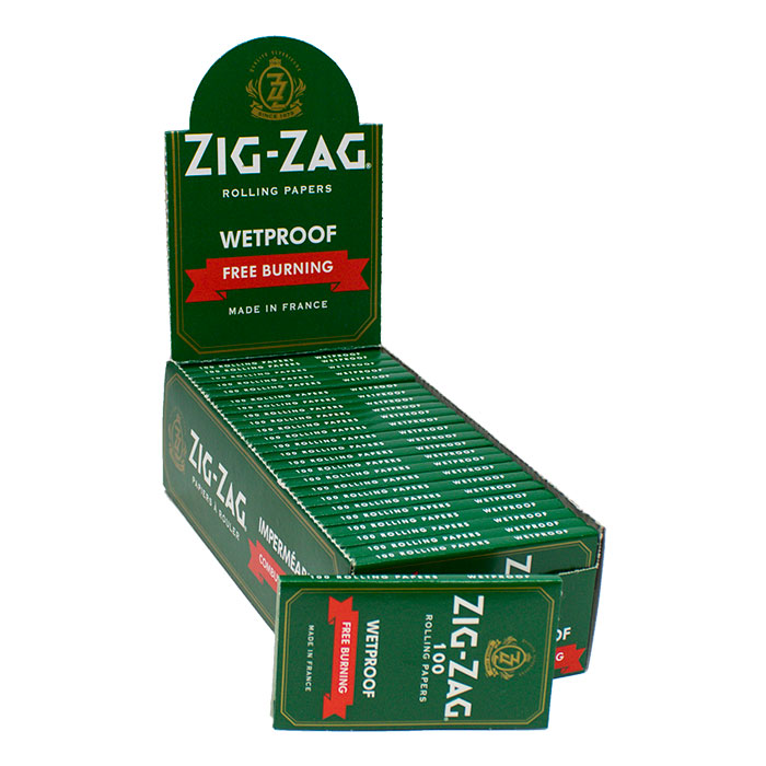 ZIG-ZAG ROLLING PAPERS GREEN