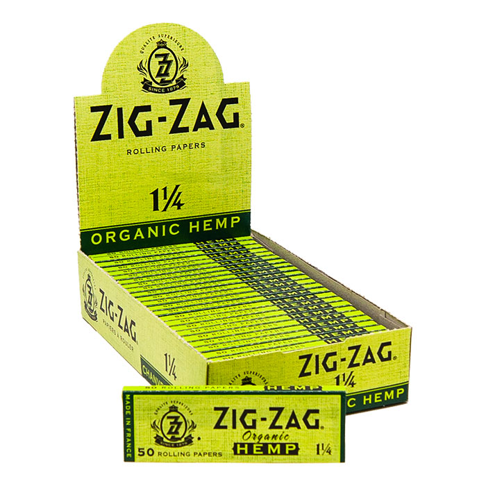 Zig Zag organic Hemp Papers 1 1/4