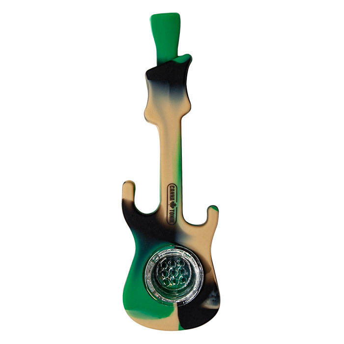 Cannatonik Silicone Green Guitar Pipe