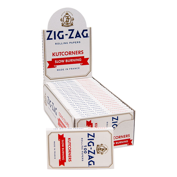 Zig Zag Kutcorners Slow Burning Rolling Paper 1 1/2
