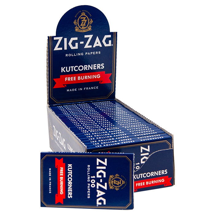 ZIG-ZAG ROLLING PAPERS BLUE