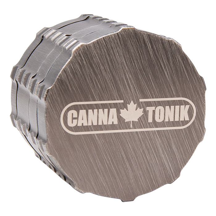 Drawing Nickel Cannatonik Aluminium Grinder With Grip 63mm