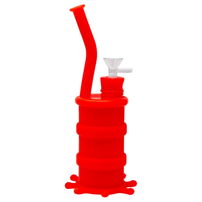 Cannatonik Silicone Octopus Red Bong