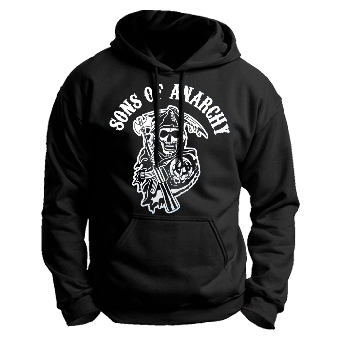 Sons of Anarchy Black Unisex Hoodie