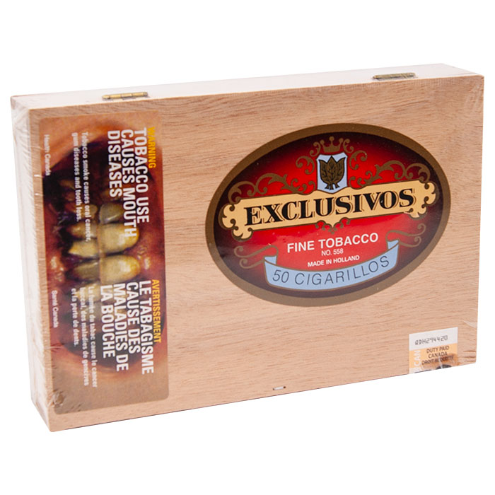 Exclusivos CIgar box of 50