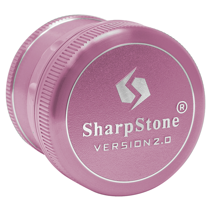 PINK SHARP STONE V2 GRINDER HARD TOP