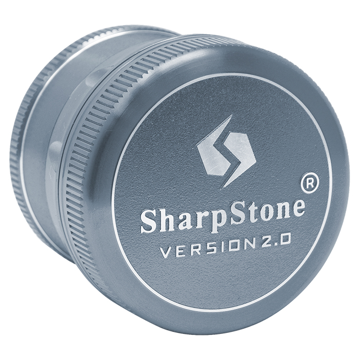Blue Sharp Stone V2 Grinder Hard Top