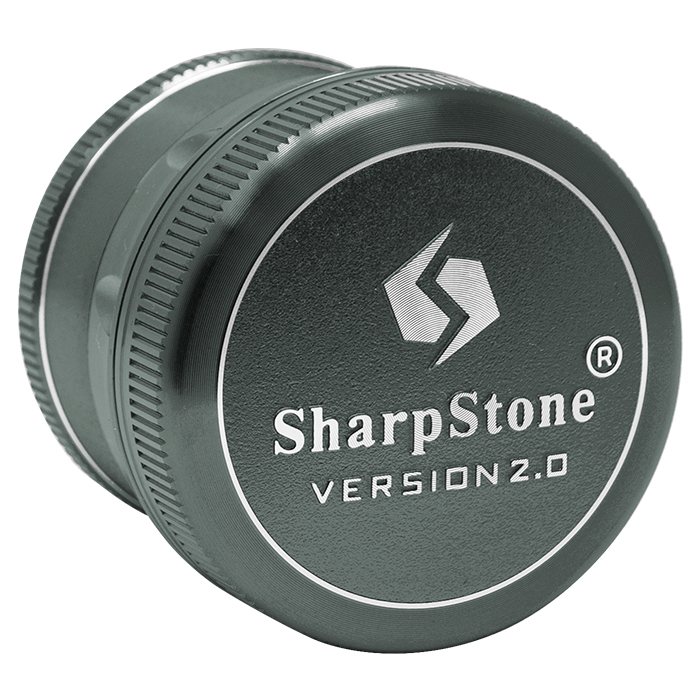 Green Sharp Stone V2 Grinder Hard Top