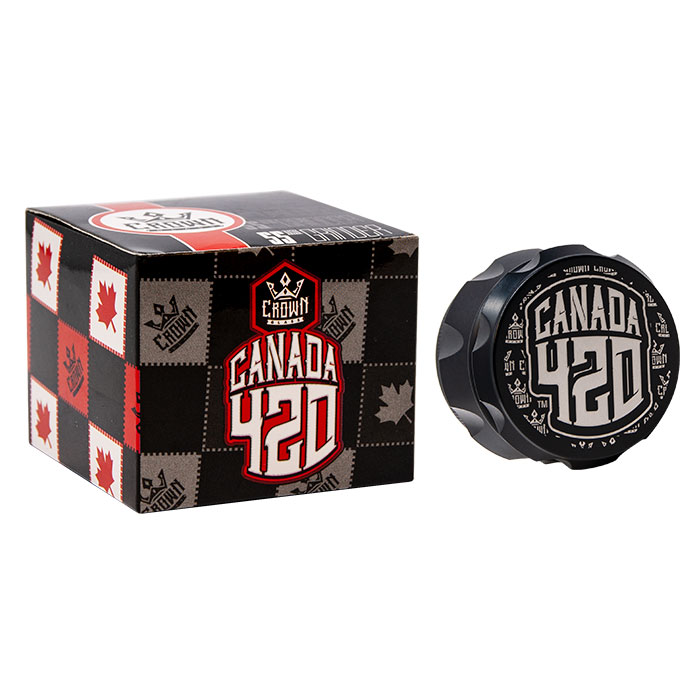 Crown Black Canada 420 Grinder