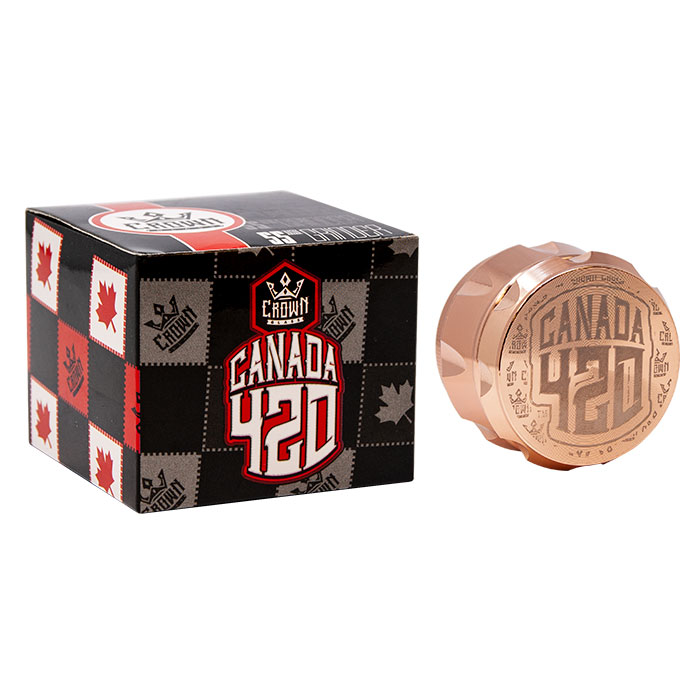 Crown Rose Gold Canada 420 Grinder