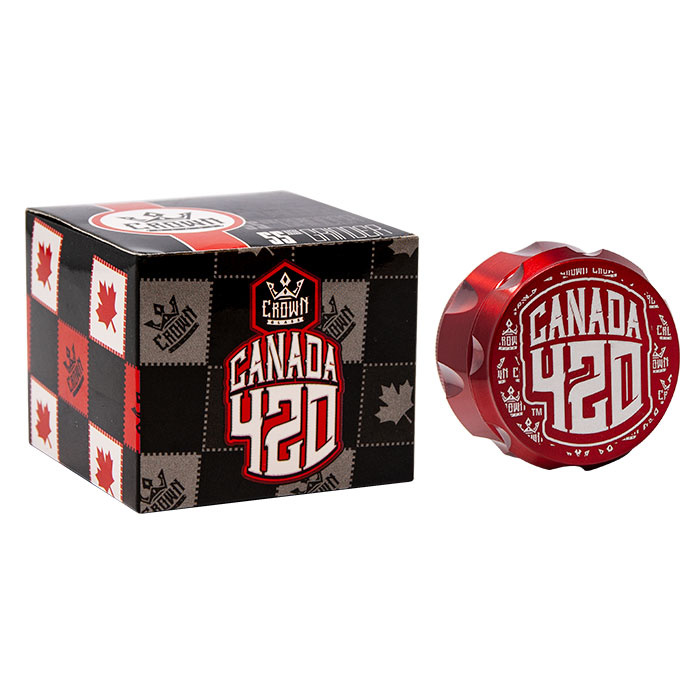 Crown Red Canada 420 Grinder