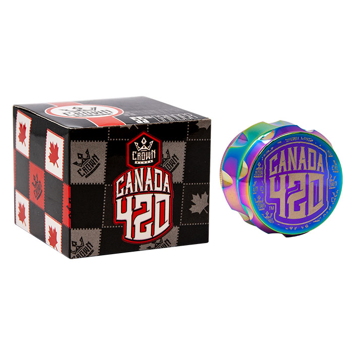 Crown Rainbow Canada 420 Grinder