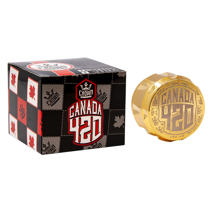 Crown Gold Canada 420 Grinder