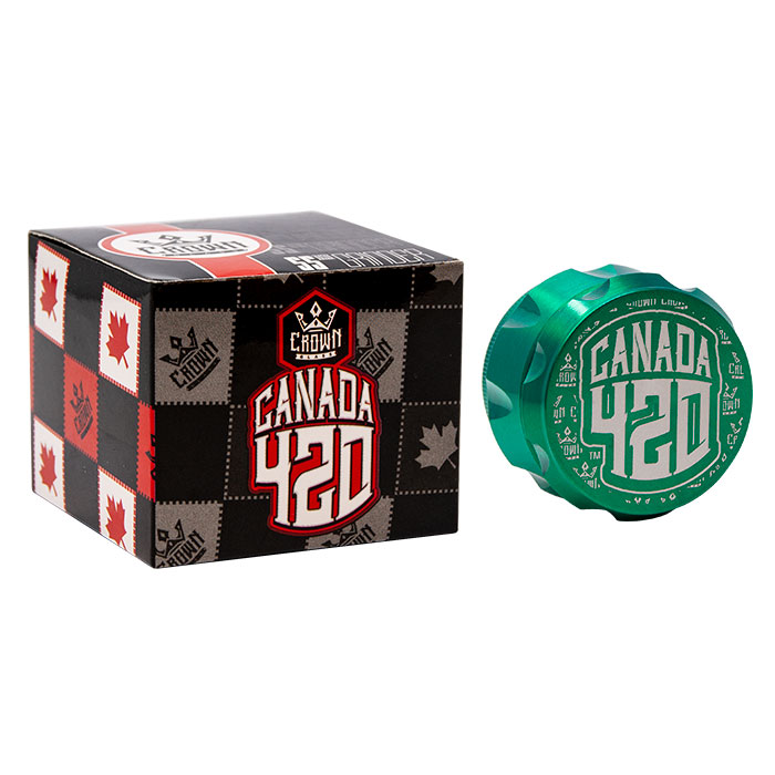 Crown Green Canada 420 Grinder