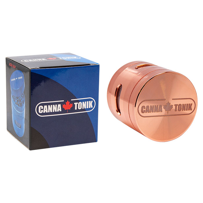 Cannatonik Rose Gold Aluminium Window Grinder 56mm