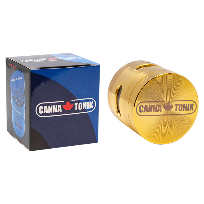 Cannatonik Gold Aluminium Window Grinder 56mm