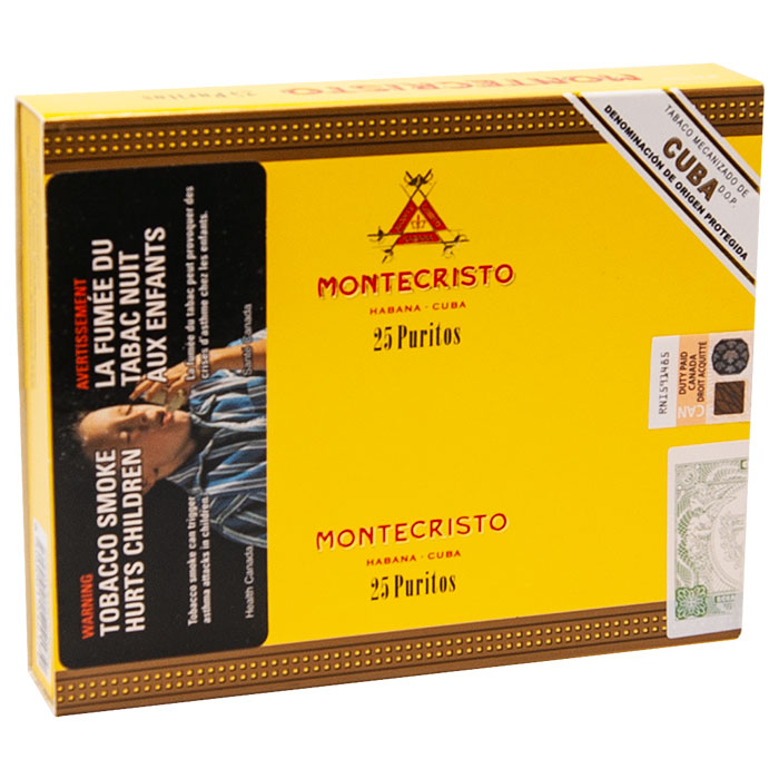 Montecristo Puritos Carton Of 25