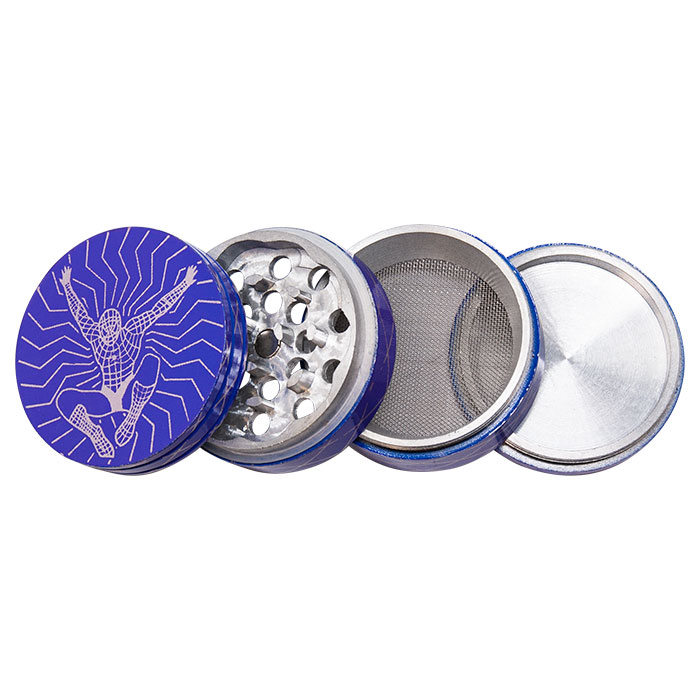 Spider Man Aluminium Grinder 50MM