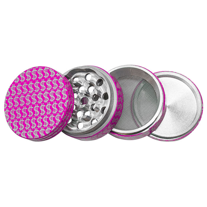Dollar Sign Aluminium Grinder 42MM