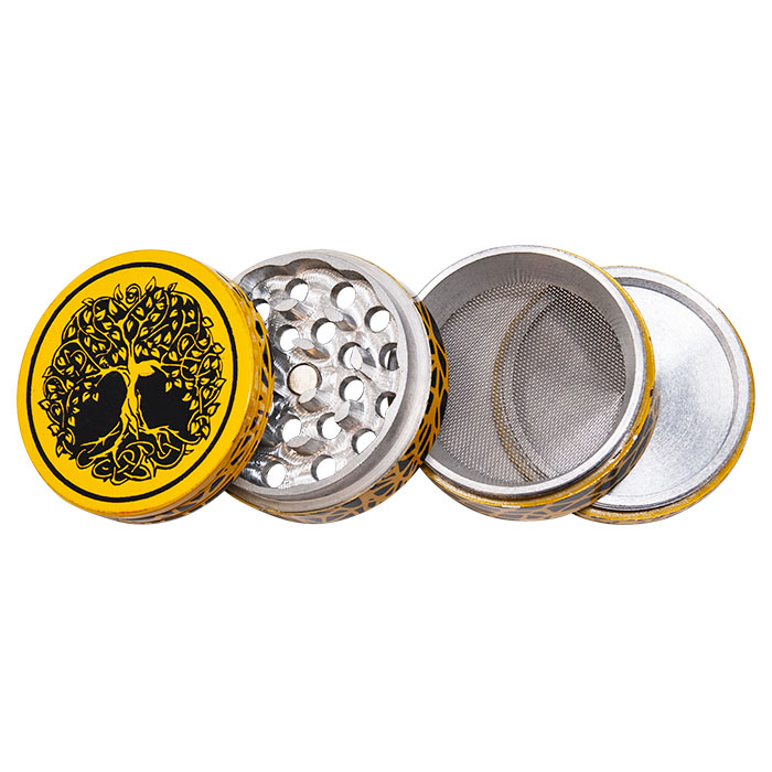 Tree Of Life Aluminium Grinder 42mm