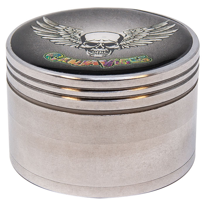 Flying Skull Ganjavibes Aluminium 42Mm Grinder