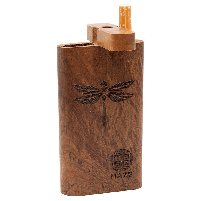 Maze Dragon Fly Teak Wood Dugout