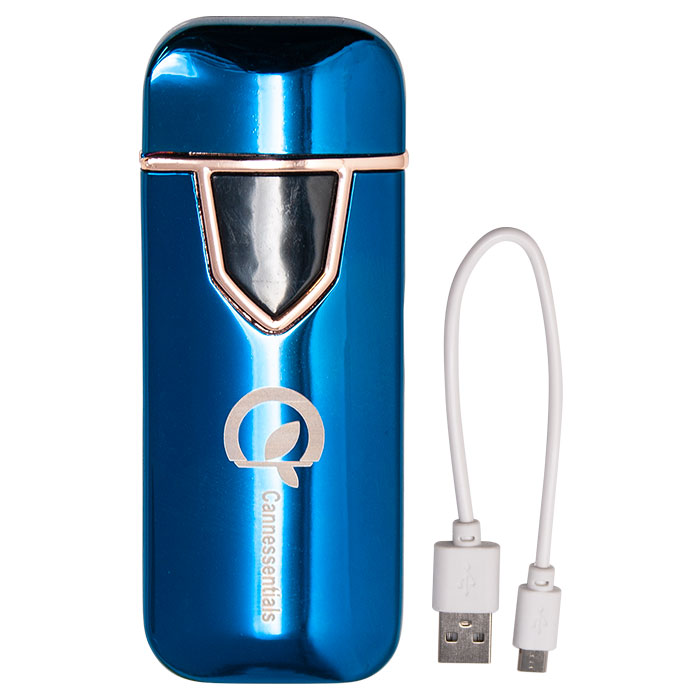 Blue Color Cannessentials Classic Lighter