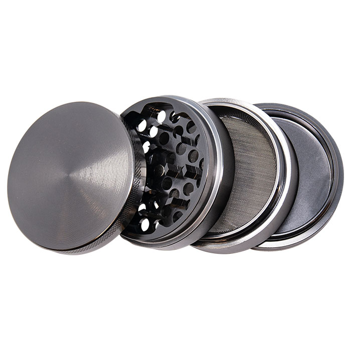 Grey Aluminium Grinder 63 Mm