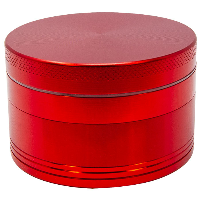 Red Aluminium Grinder 63 Mm