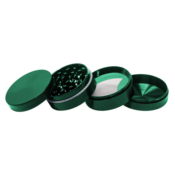 Green Plain  Aluminium Grinder 56MM