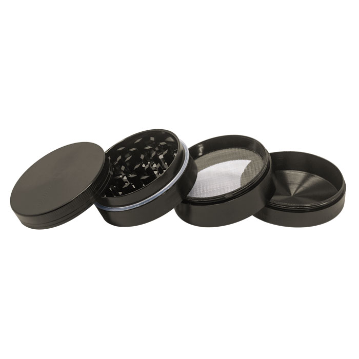 Grey Plain Aluminium Grinder 56MM