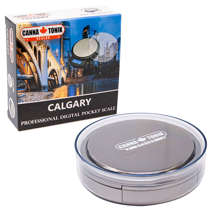 Silver Cannatonik Double Digital Calgary Scale