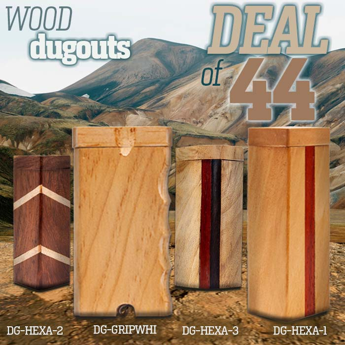 Assorted Dugouts Deal Of 44 Pcs