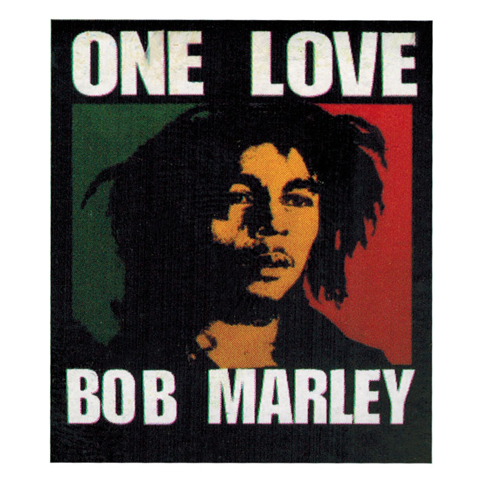 Bob One Love Flag
