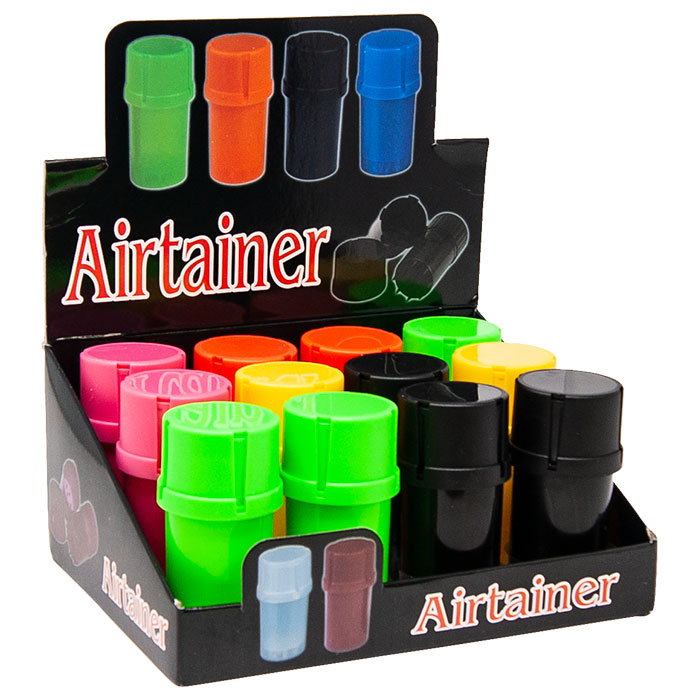 Assorted Color 3 Part Airtainer Display Of 12