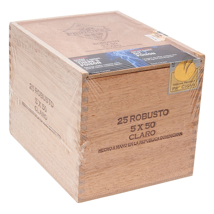 Principes Cigar Long Filler Robusto Claro Box Of 25