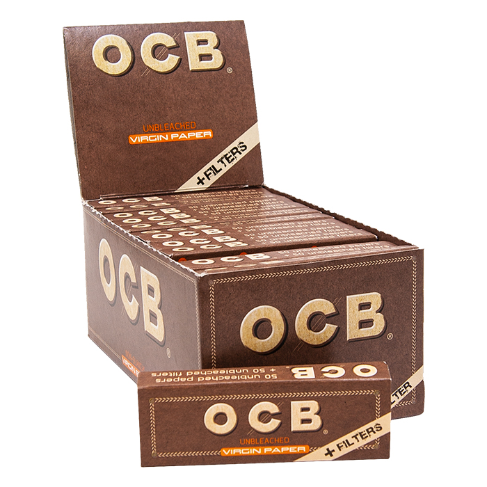 OCB Unbleached 1 1/4 + Filters