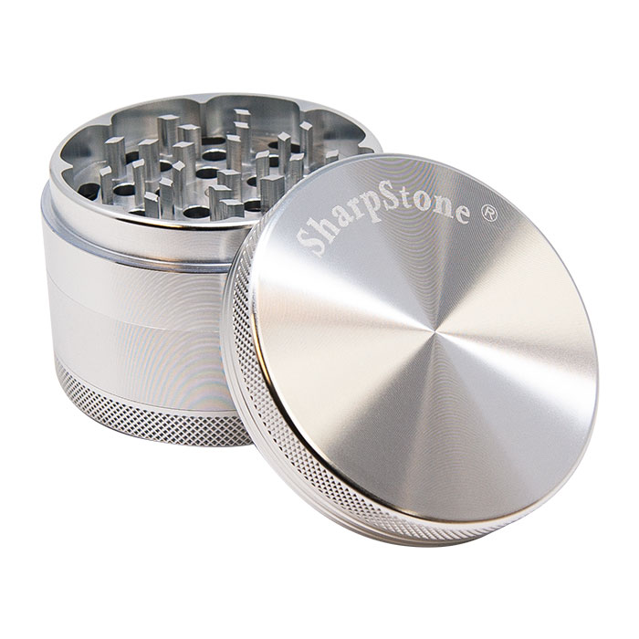Sharp Stone Silver Grinder 2.5 Inches