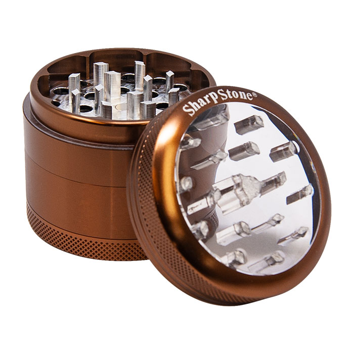 Sharp Stone Brown Grinder 2.2 Inches