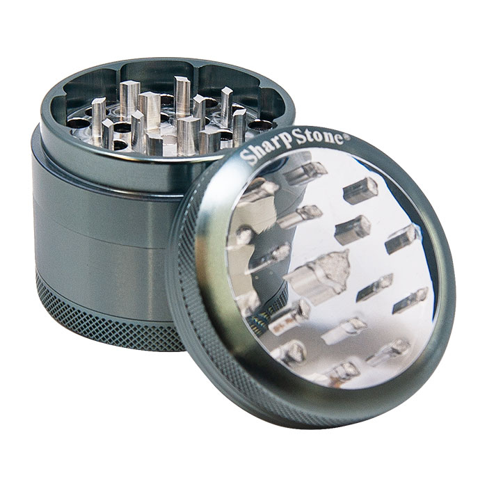 Sharp Stone Grey Grinder 2.2 Inches