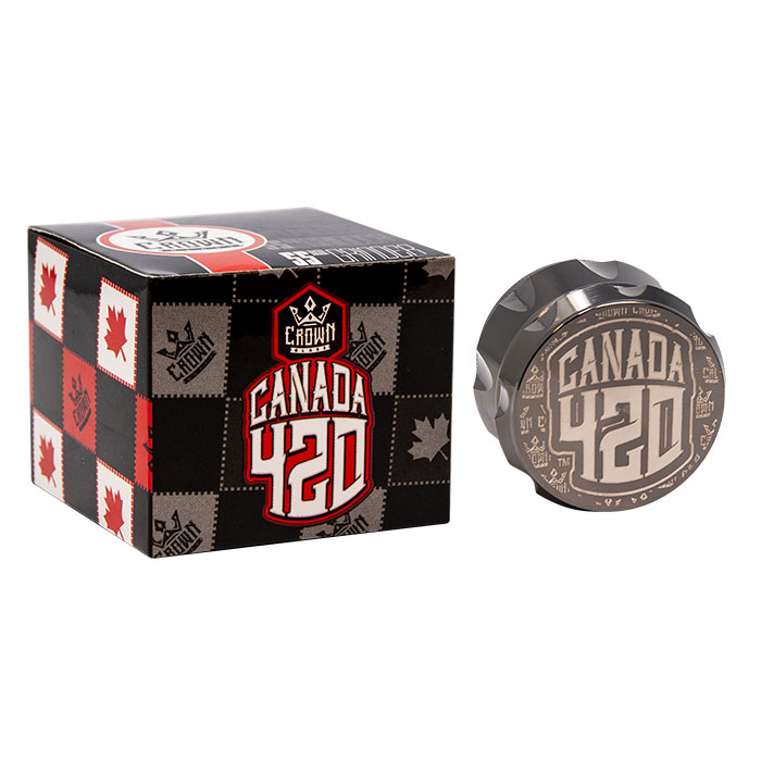 Crown Brown Canada 420 Grinder