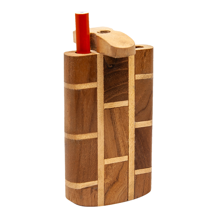 Check Design Wooden Dugout