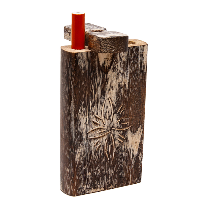 Handcrafted Wooden Dugout Flower Design