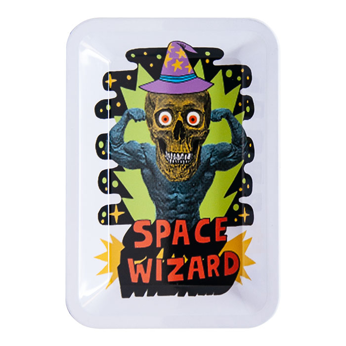 Space Wizard Small Rolling Tray