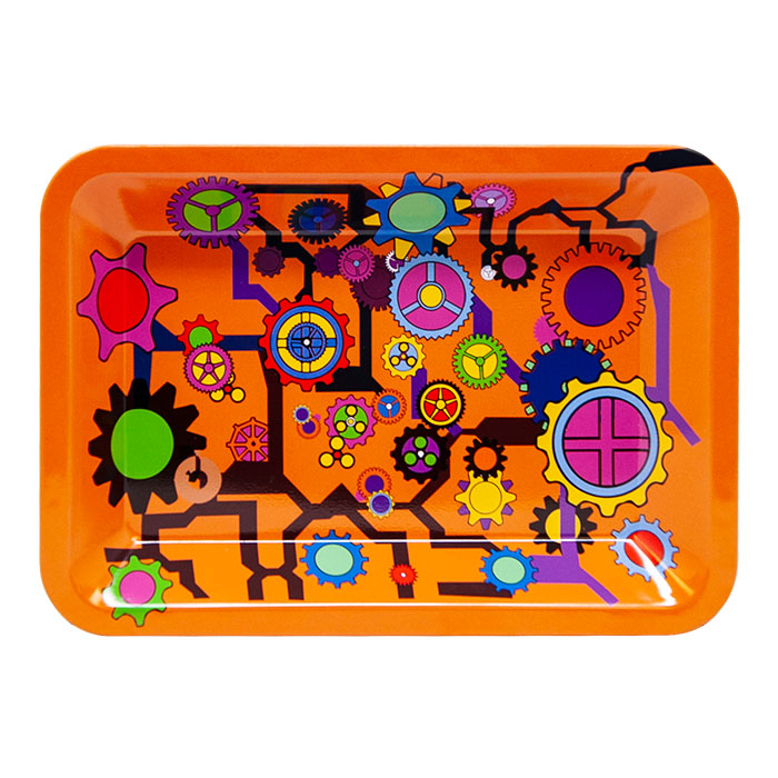 Orange Gear Small Rolling Tray