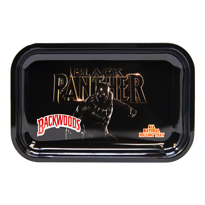 Black Panther Medium Rolling Tray