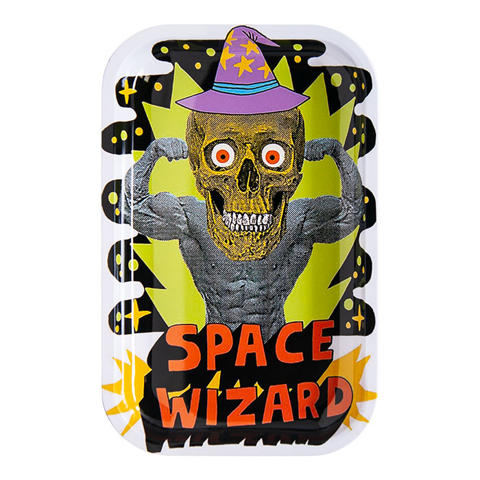 Space Wizard Medium Rolling Tray