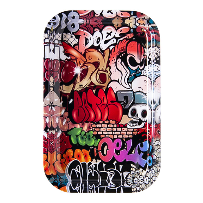 Gangster Graffitie Medium Rolling Tray