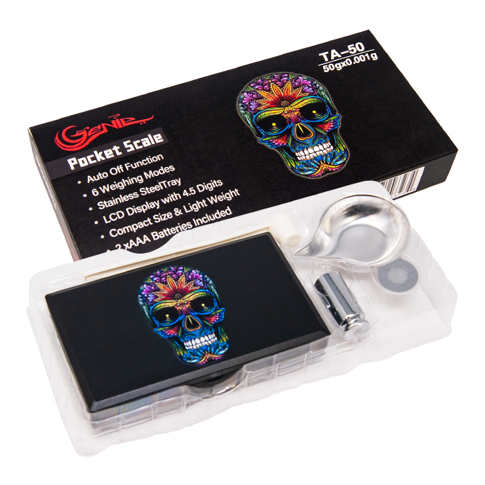 Genie Sugar Skull Triple Digit Scale